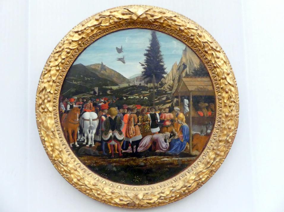 Domenico Veneziano: Die Anbetung der Könige, Um 1439 - 1441