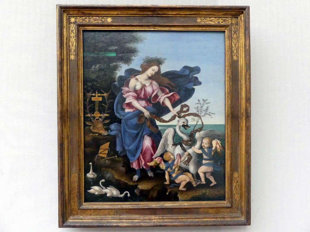 Filippino Lippi: Allegorie der Musik (Die Muse Erato), um 1500