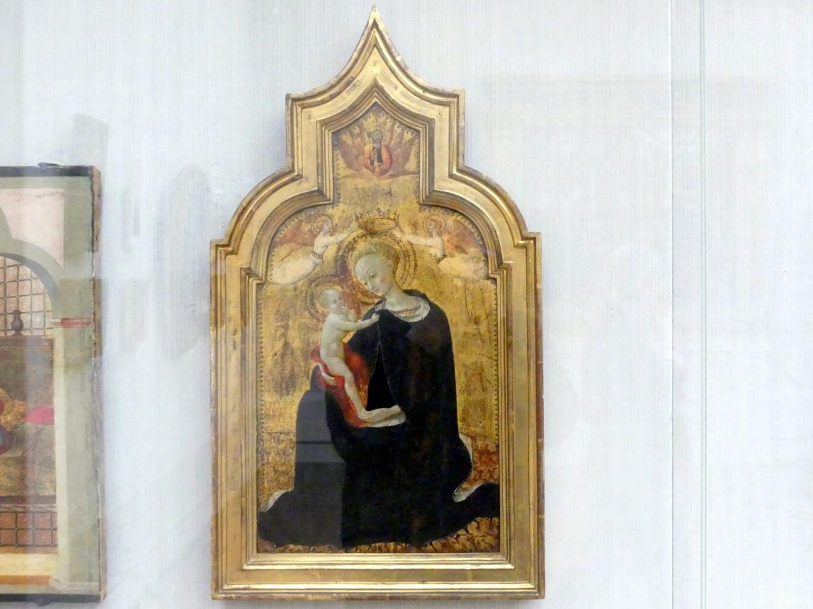 Stefano di Giovanni di Consolo (Sassetta): Maria mit dem Kind, um 1432 - 1436