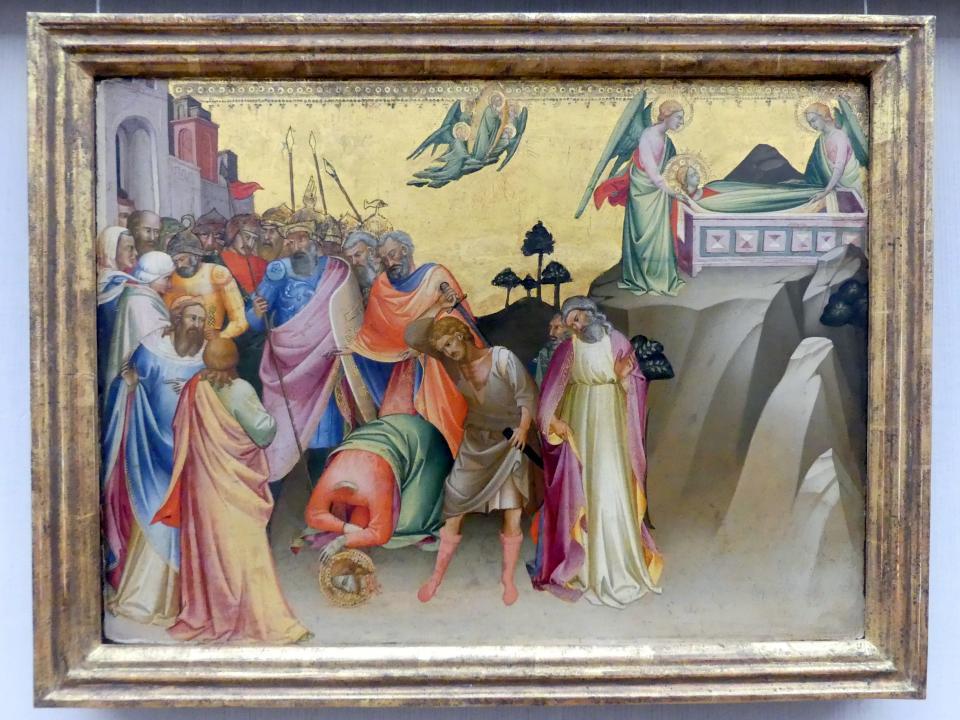 Lorenzo Monaco: Die Enthauptung der hl. Katharina von Alexandrien, um 1390