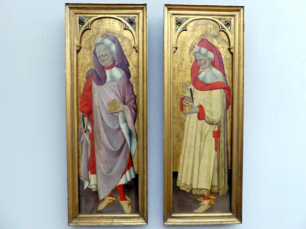 Giovanni da Modena: Der hl. Cosmas, der hl. Damian, Undatiert