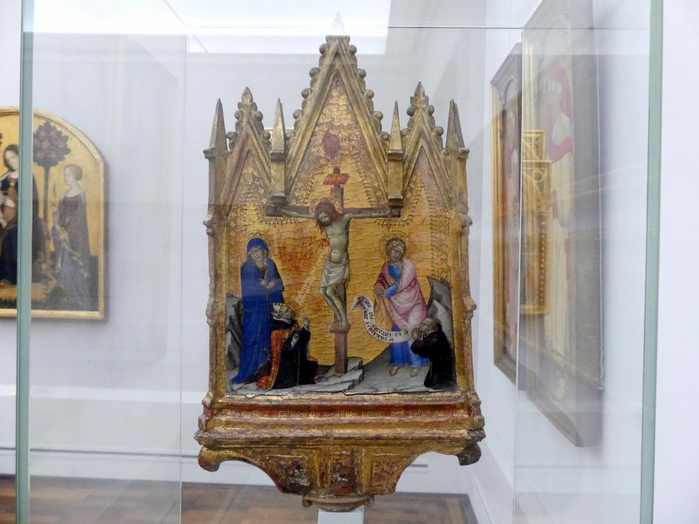 Francesco di Vannuccio: Christus am Kreuz zwischen Maria und Johannes, Undatiert