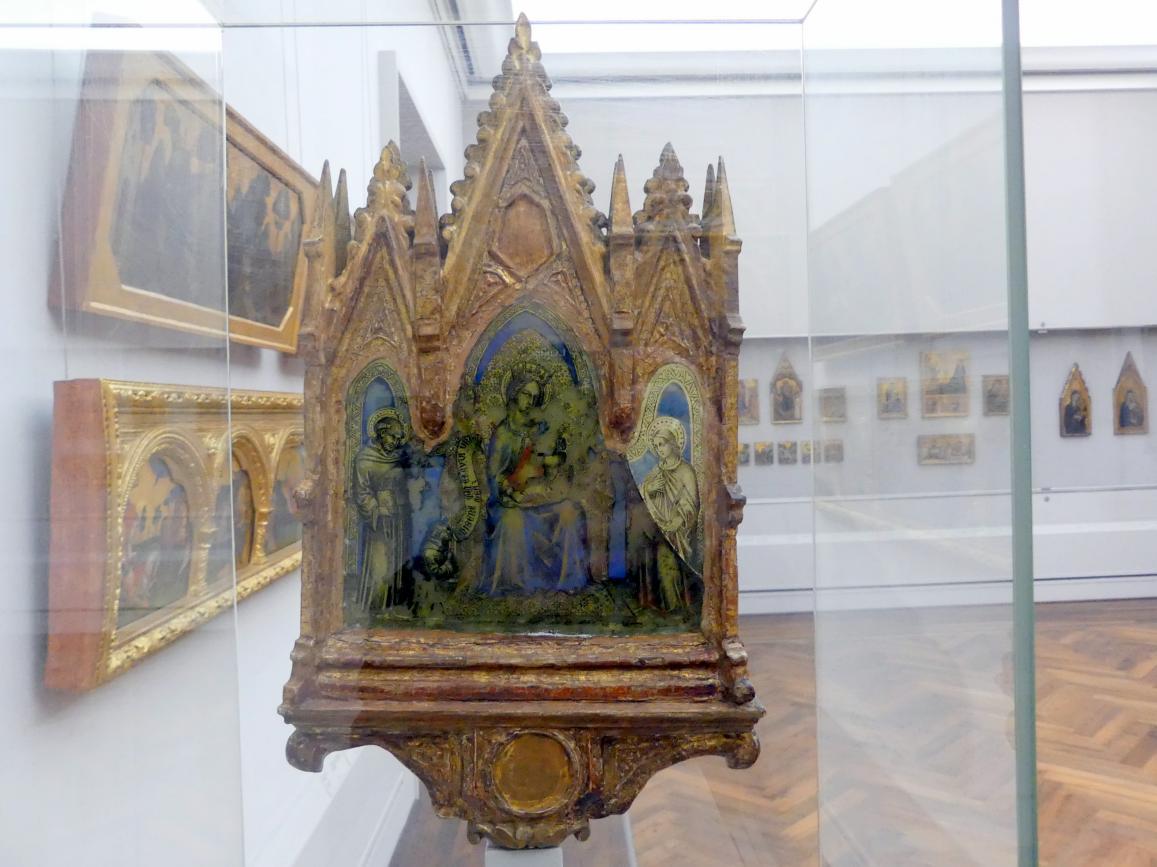 Francesco di Vannuccio: Thronende Maria mit dem Kind und Heiligen, Undatiert