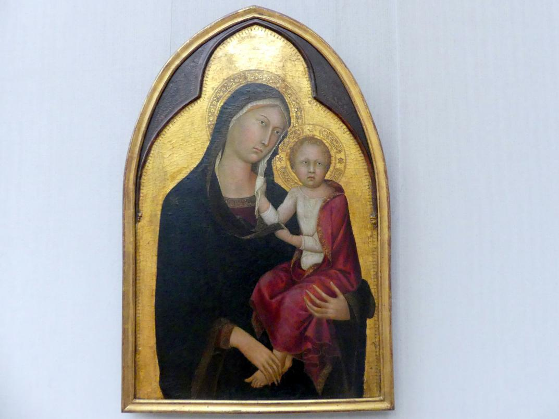 Lippo Memmi: Maria mit dem Kind, Um 1330