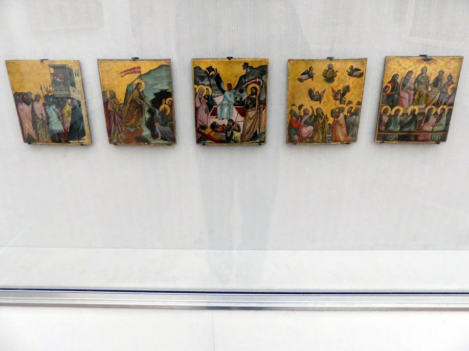 Giovanni Baronzio: Fünf Szenen aus dem Leben Christi, Undatiert