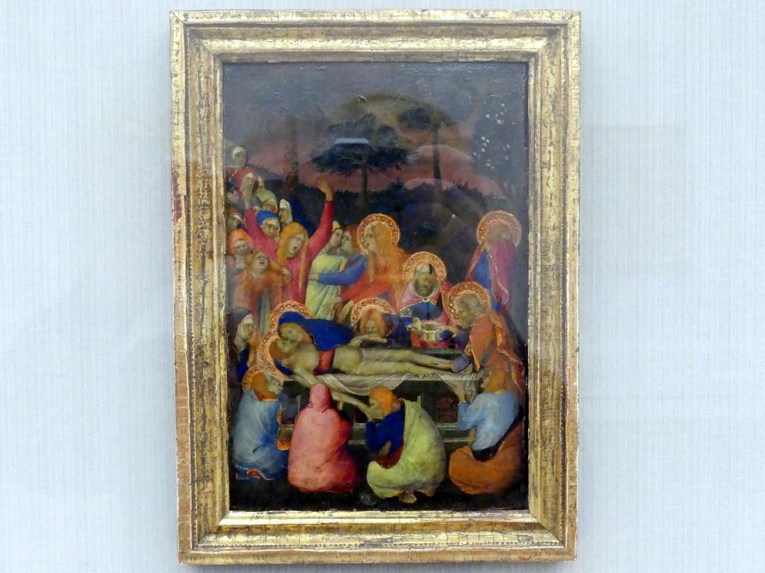 Simone Martini: Die Grablegung Christi, Undatiert