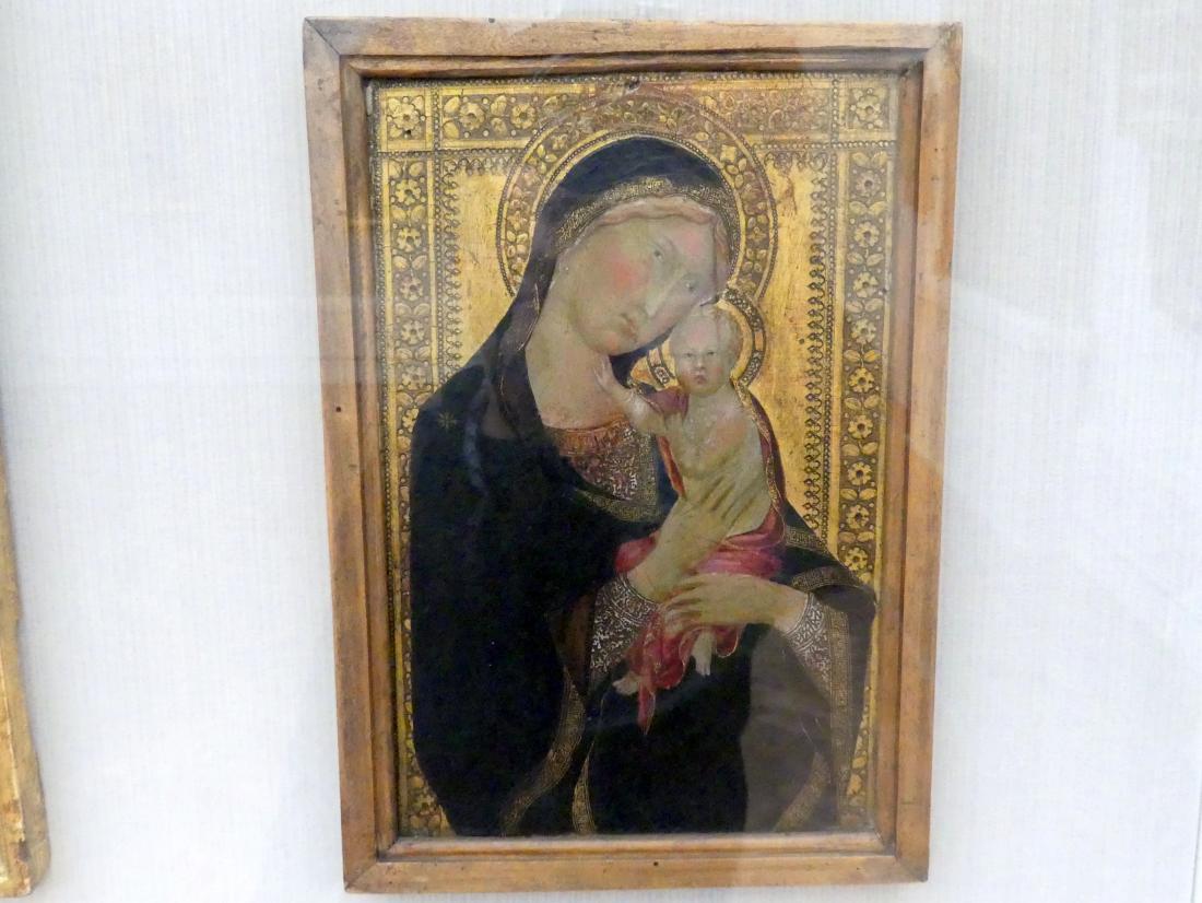 Maria mit dem Kind, um 1350 - 1360