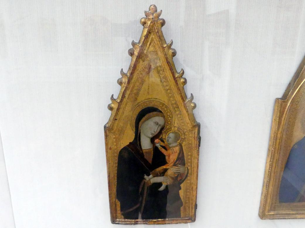 Andrea Vanni: Maria mit dem Kind, Um 1350 - 1360