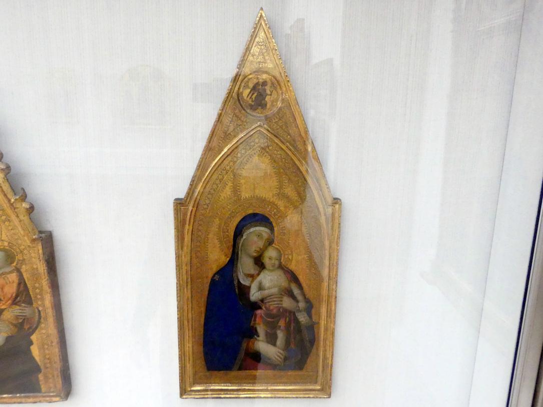 Lippo Memmi: Maria mit dem Kind, 1333