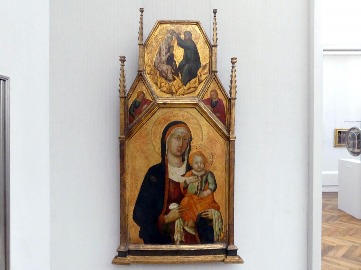Lippo Memmi (Werkstatt): Maria mit dem Kind, Undatiert