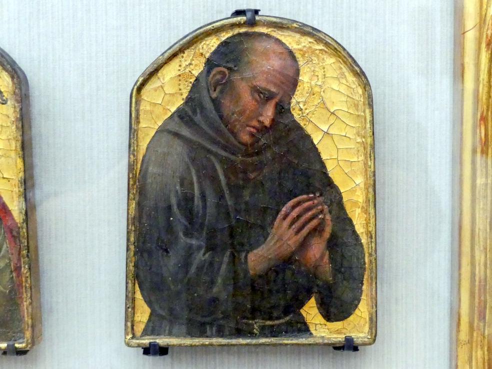 Antonio Veneziano: Weibliche Heilige, hl. Bischof, hl. Franziskaner, Undatiert, Bild 4/5