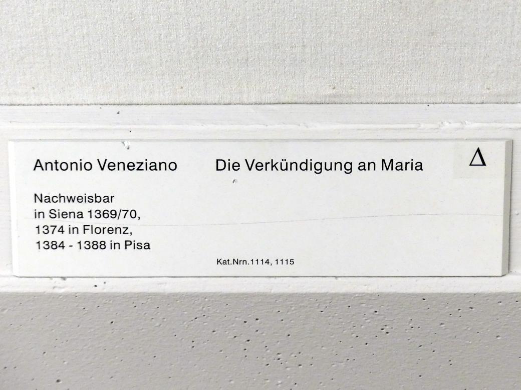 Antonio Veneziano: Die Verkündigung an Maria, Undatiert, Bild 4/4
