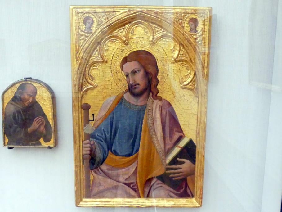 Antonio Veneziano: Der Apostel Jakobus der Ältere, um 1385 - 1388