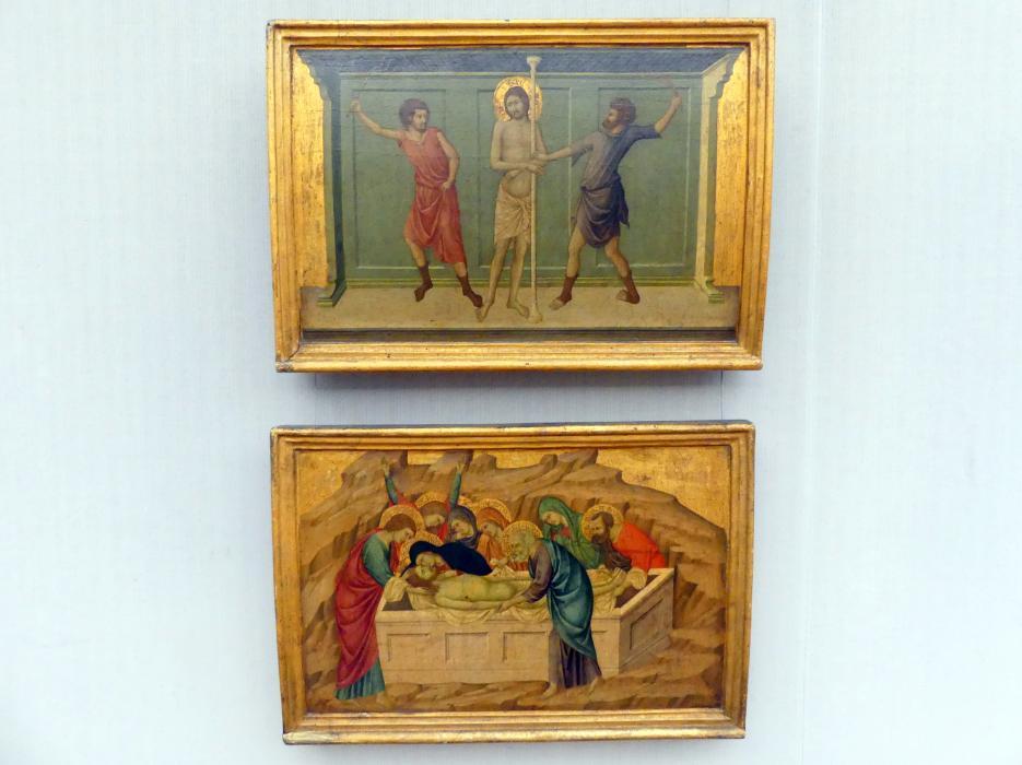 Ugolino di Nerio: Teile des Polyptychons vom Hochaltar in S. Croce, Florenz, um 1325 - 1335