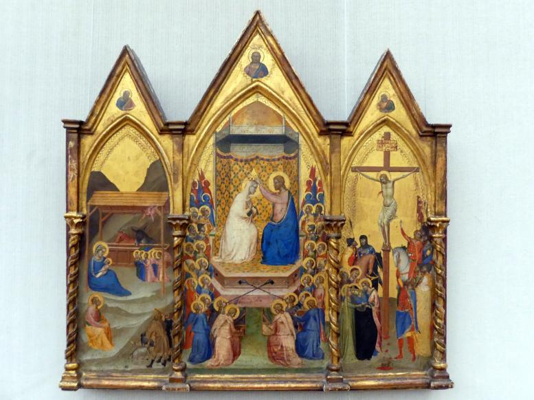 Bernardo Daddi: Altartafel in Form eines Triptichons, Um 1338 - 1340