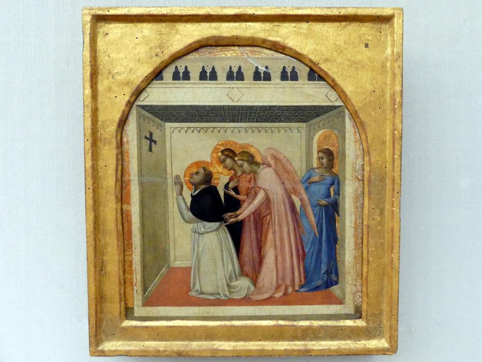 Bernardo Daddi: Die Versuchung des hl. Thomas von Aquin, 1338