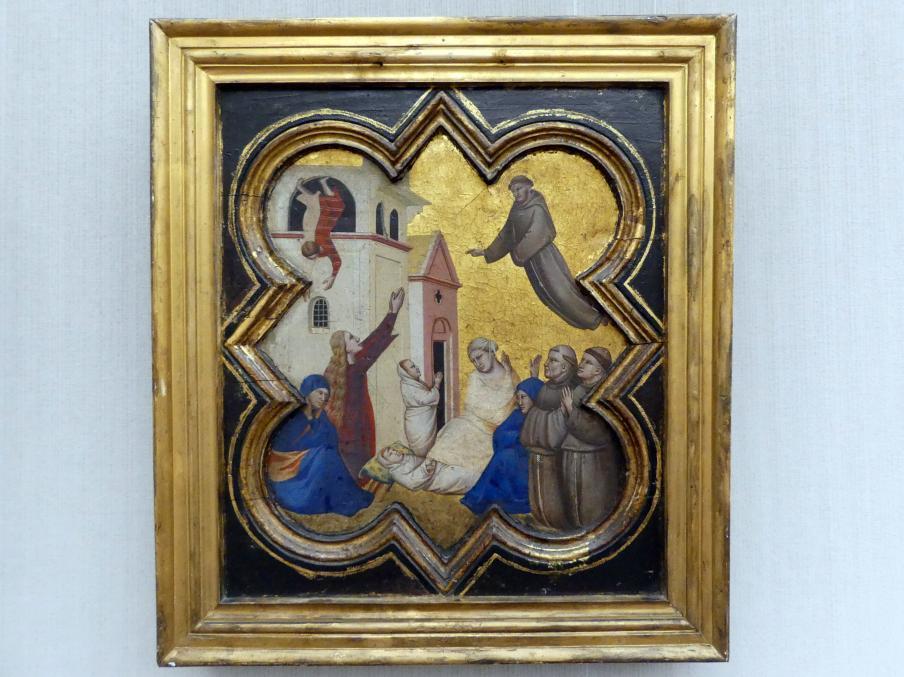 Taddeo Gaddi: Der hl. Franziskus erweckt ein Kind, um 1335