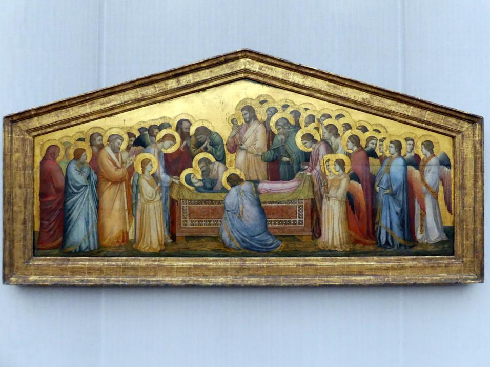 Giotto di Bondone (Giotto): Die Grablegung Mariae, Um 1310