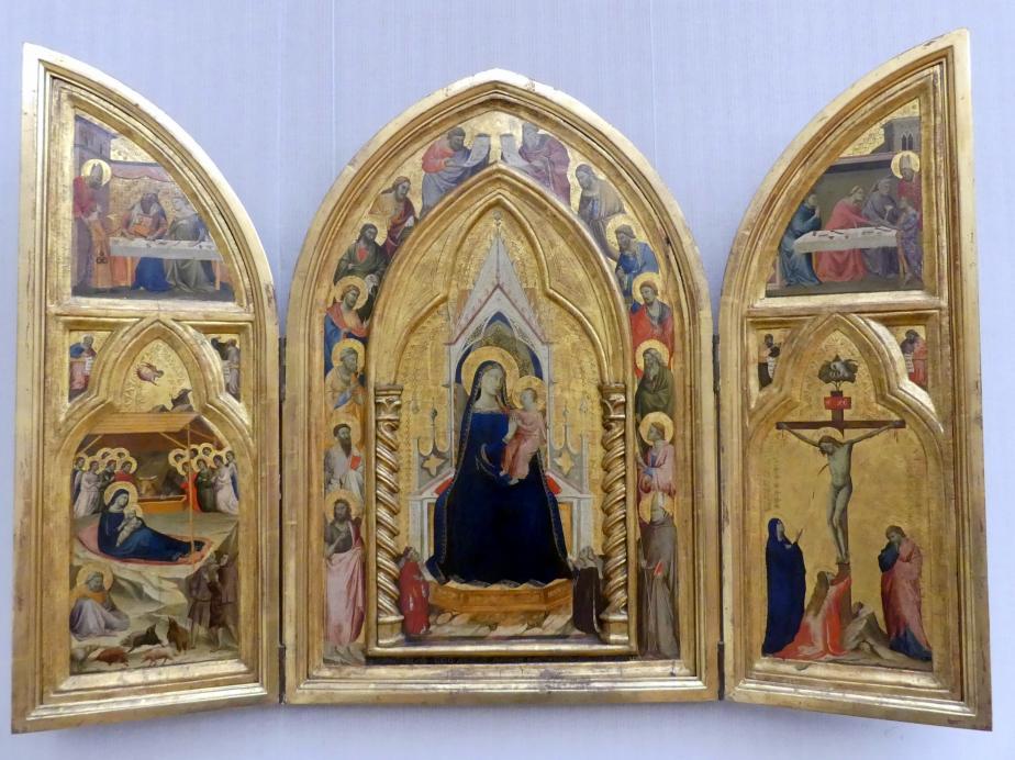 Taddeo Gaddi: Triptychon, 1334