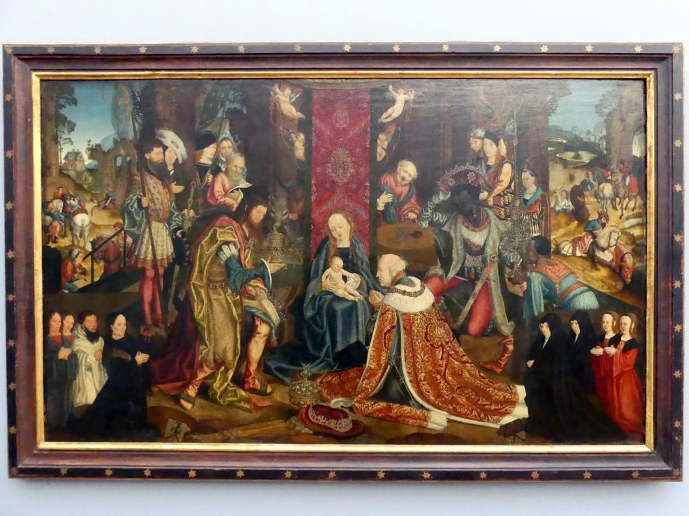 Meister des Aachener Altars: Die Anbetung der Heiligen Drei Könige, um 1510