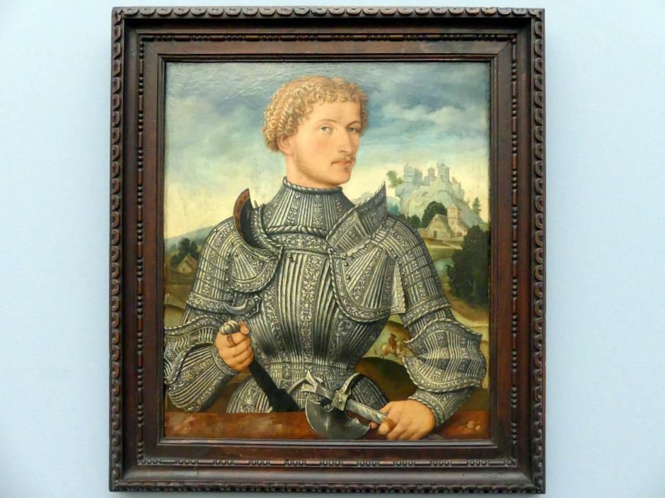 Meister LS: Bildnis eines Herrn Rehlinger, 1540