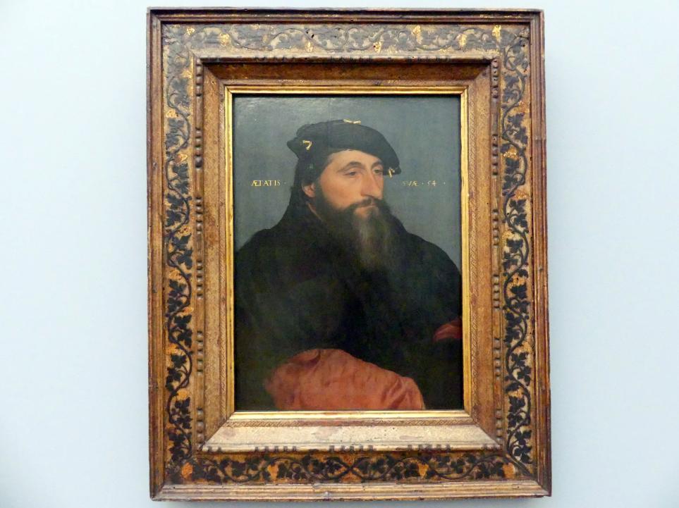Hans Holbein der Jüngere: Herzog Anton der Gute von Lothringen (1489-1544), um 1543