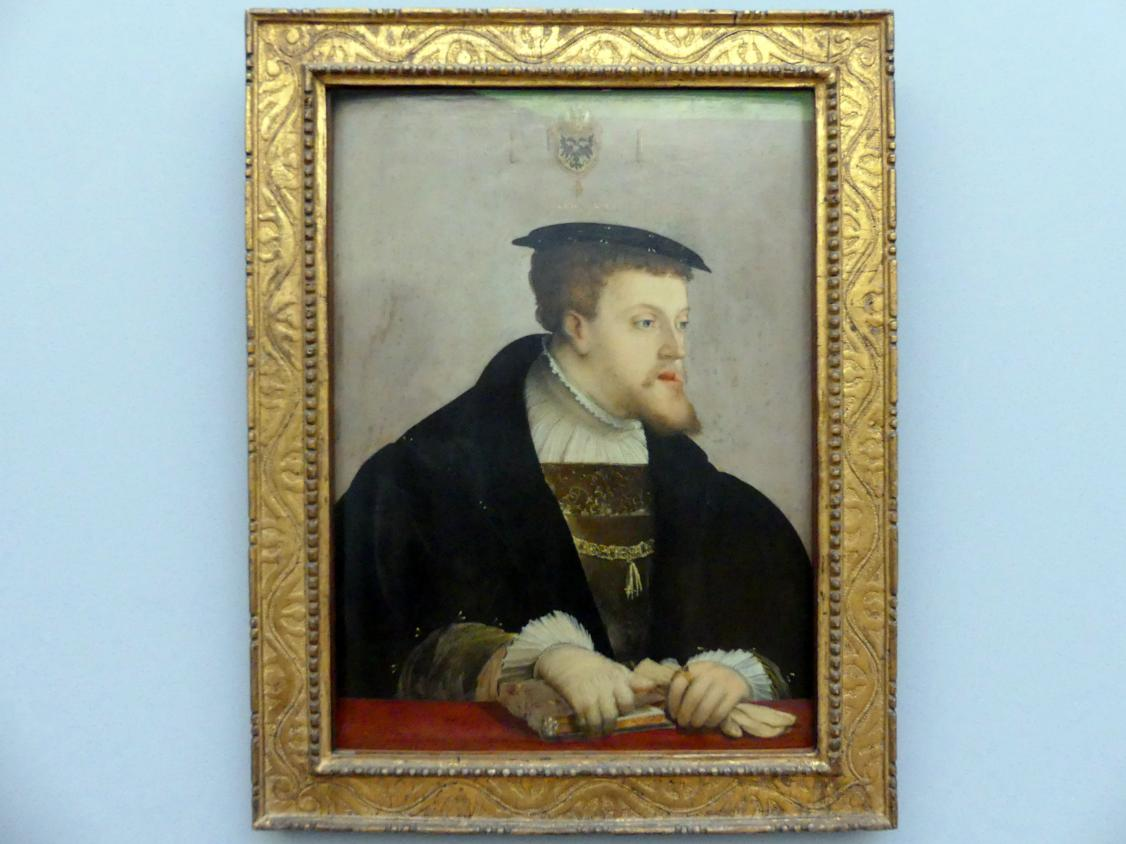 Christoph Amberger: Kaiser Karl V. (1500-1558), um 1532