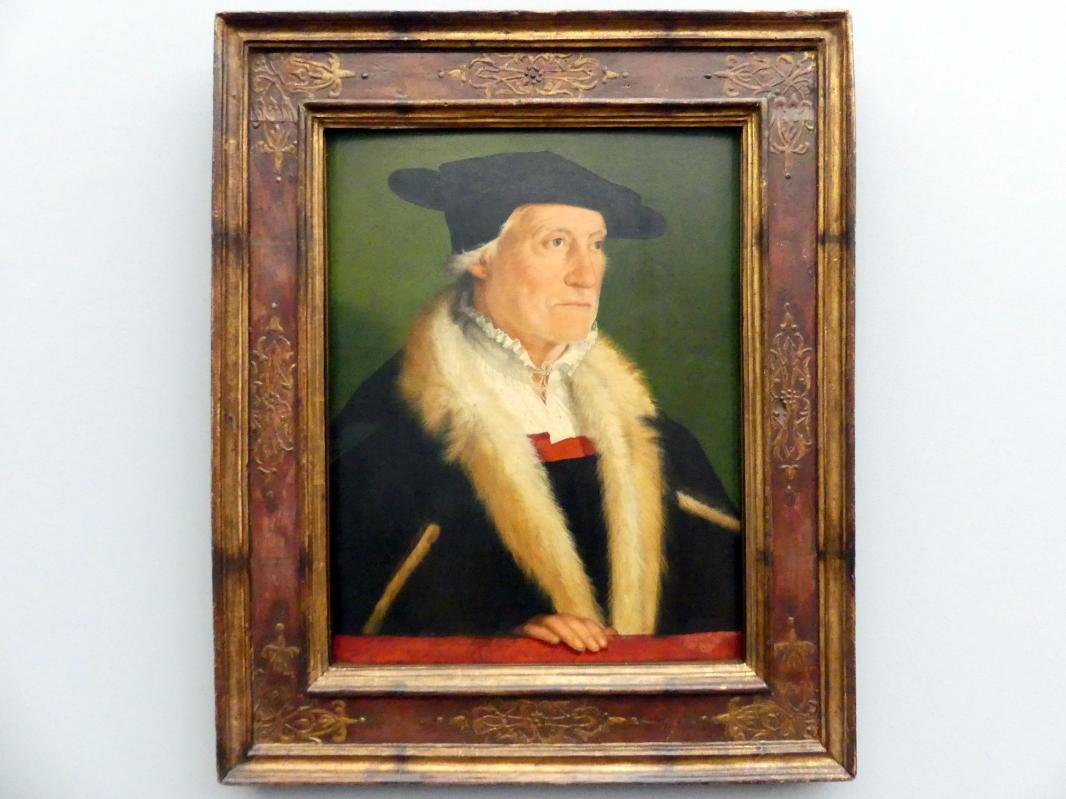 Christoph Amberger: Der Kosmograph Sebastian Münster (1489-1552), um 1552