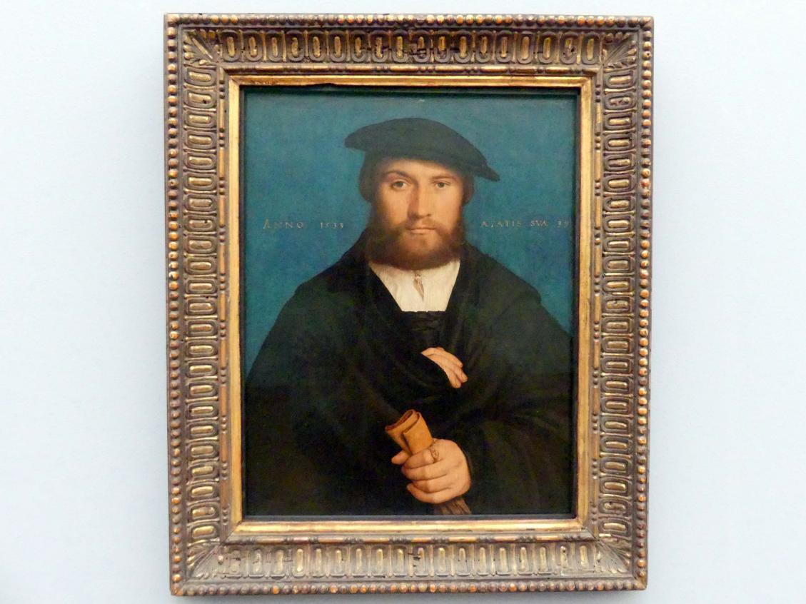 Hans Holbein der Jüngere: Hermann Hillebrandt (?) Wedigh (geboren um 1494), 1533