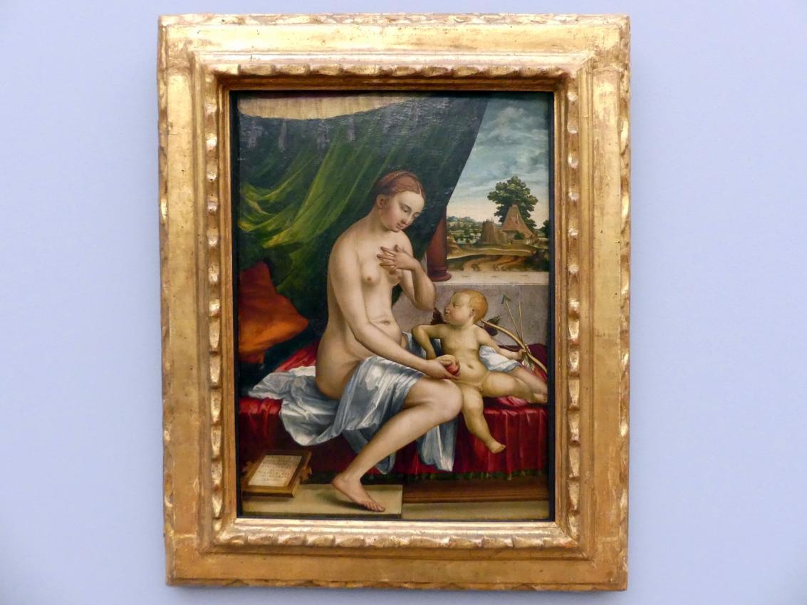 Georg Pencz: Venus und Amor, um 1528 - 1529