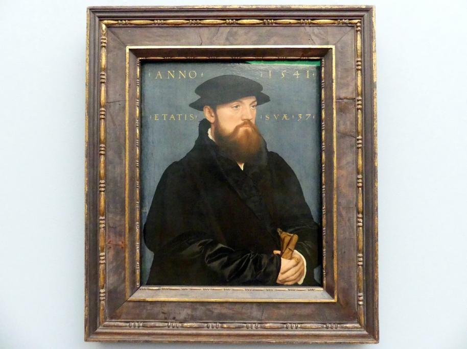 Hans Holbein der Jüngere: Roelof (?) de Vos van Steenwijk (um 1504 - um 1564), 1541