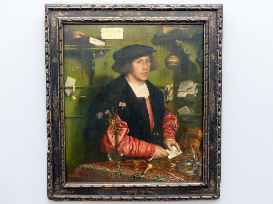 Hans Holbein der Jüngere: Der Kaufmann Georg Gisze (1497-1562), 1532