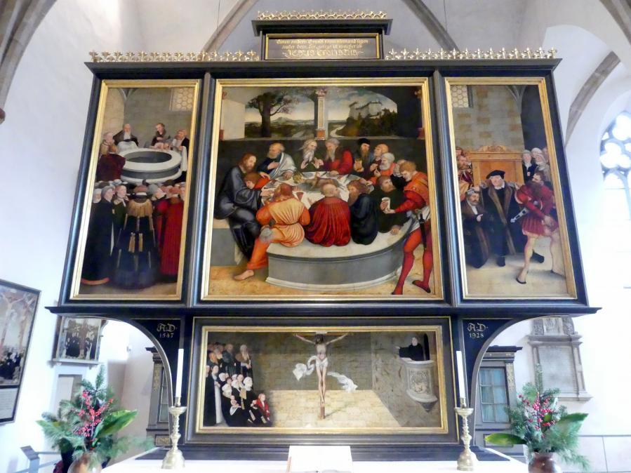 Lucas Cranach der Ältere: Reformationsaltar, 1547 - 1548