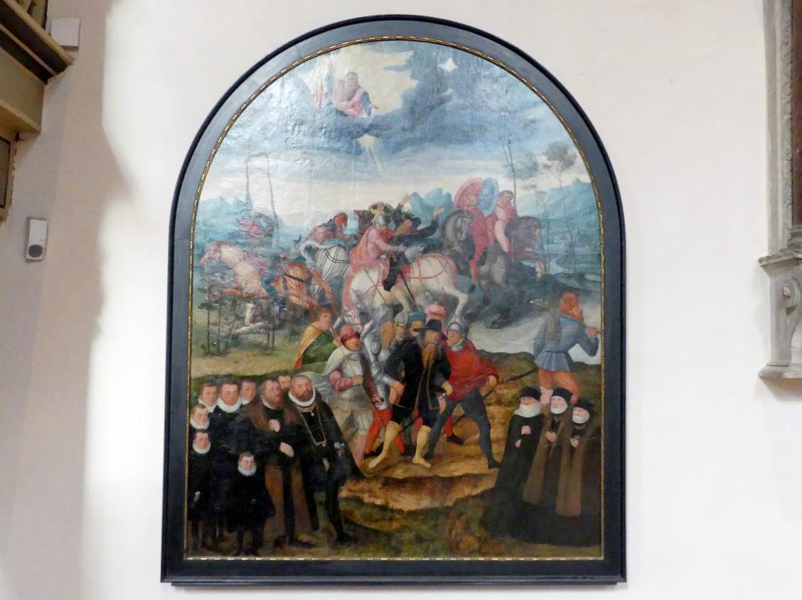 Lucas Cranach der Jüngere: Die Bekehrung Pauli, 1586