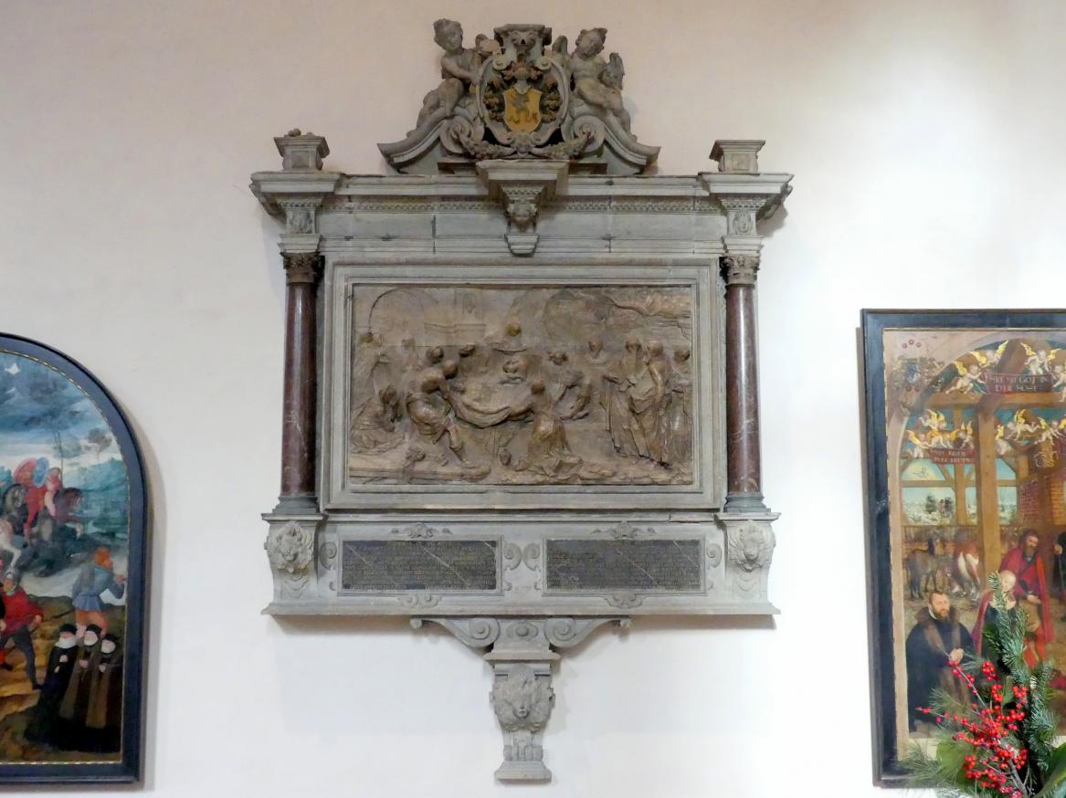 Sebastian Walther: Grablegung Christi, um 1606 - 1607