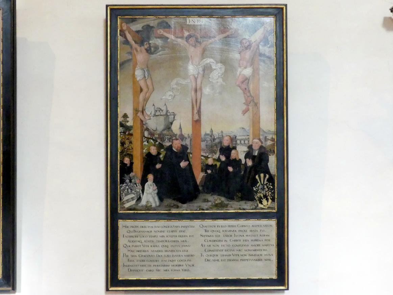 Lucas Cranach der Jüngere: Die Kreuzigung Christi, nach 1565