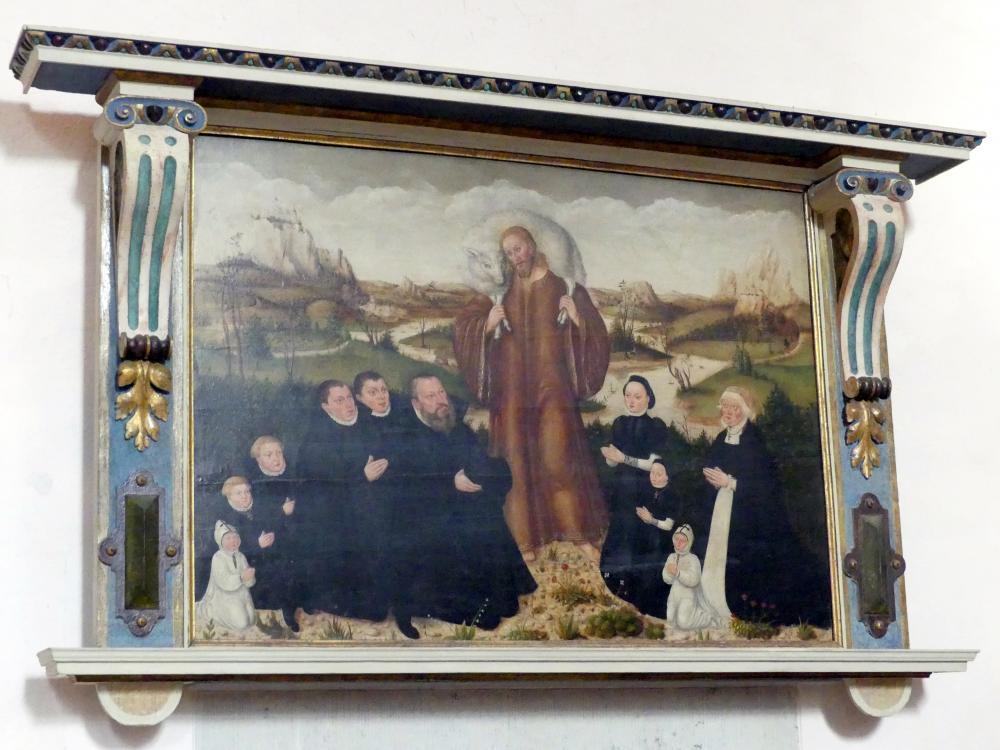 Lucas Cranach der Jüngere: Der Gute Hirte, Nach 1573
