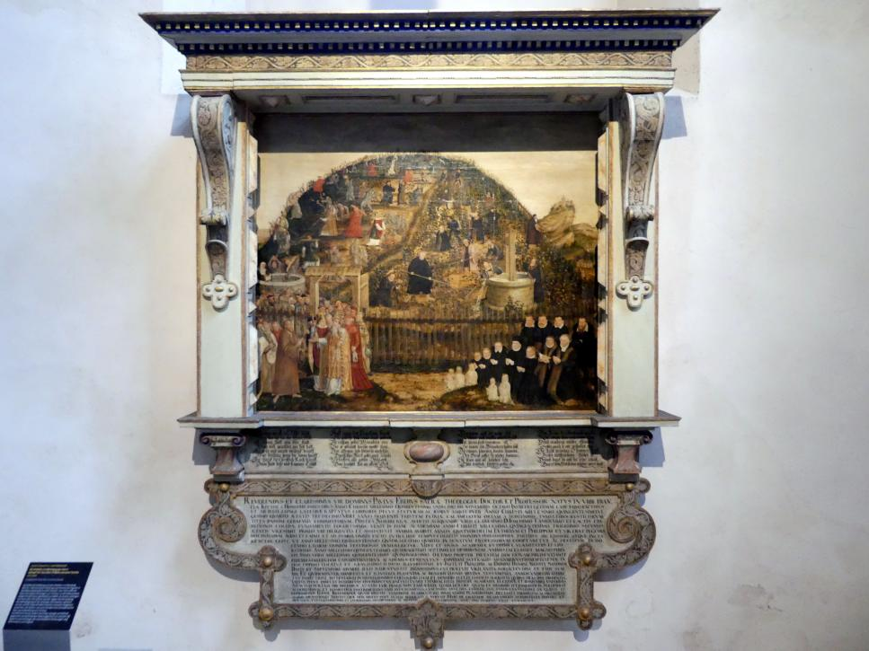 Lucas Cranach der Jüngere: Die Arbeiter im Weinberg des Herrn, 1573 - 1574