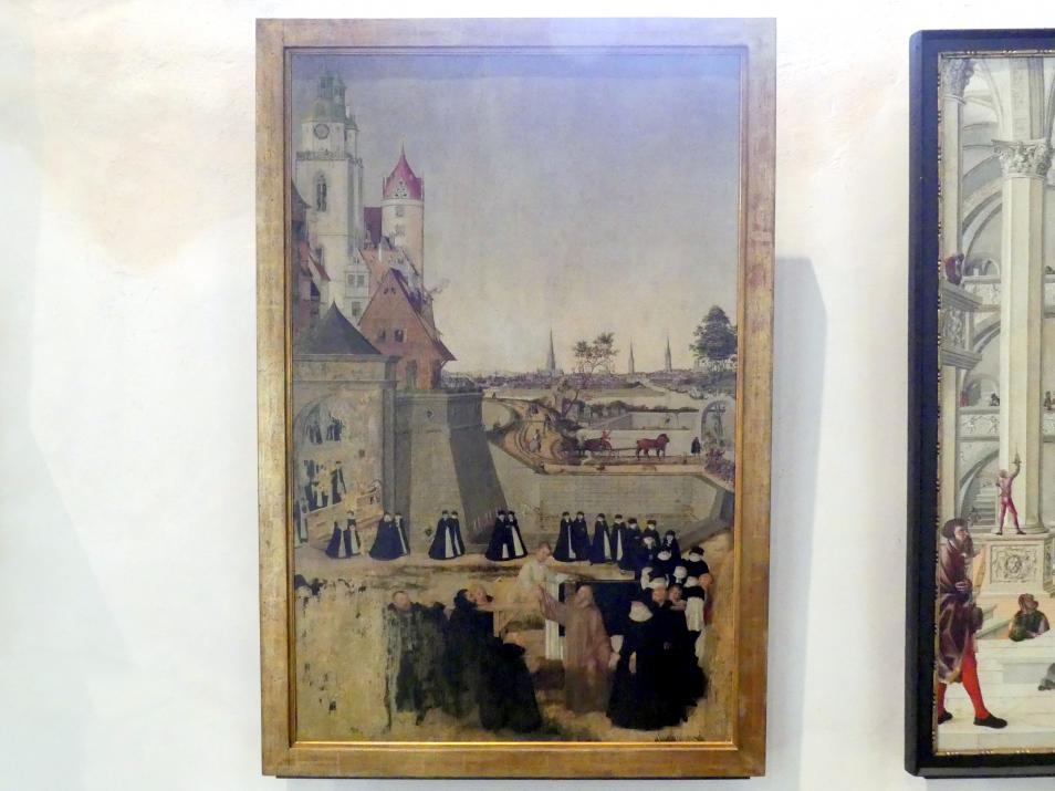 Lucas Cranach der Jüngere: Die Auferweckung des Jünglings Nain, Um 1573