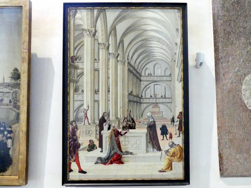 Lucas Cranach der Jüngere (Werkstatt): Die Darstellung Jesu im Tempel, 1569