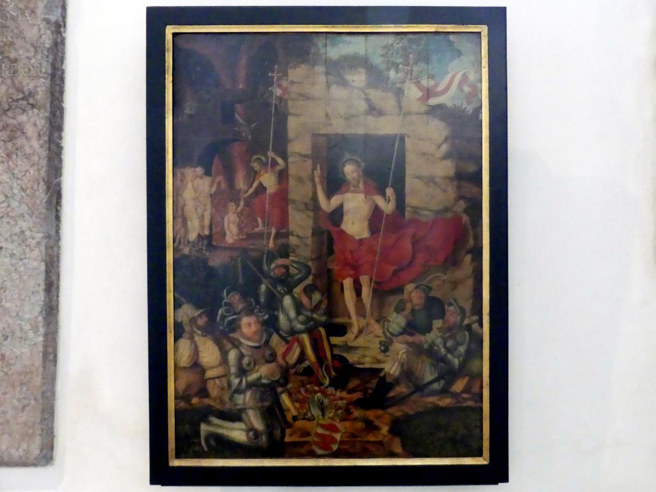 Augustin Cranach: Auferstehung und Höllenfahrt Christi, Undatiert