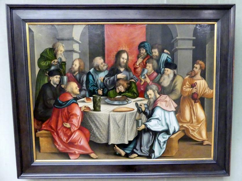Hans Schäufelein: Das Abendmahl, 1511