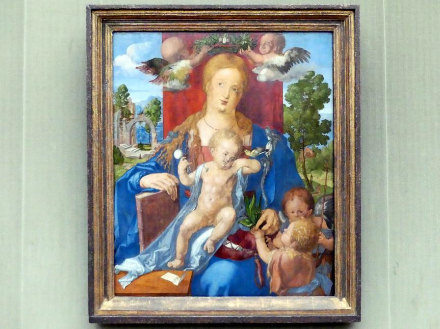 Albrecht Dürer: Die Madonna mit dem Zeisig, 1506
