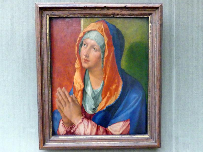 Albrecht Dürer: Betende Maria, 1518