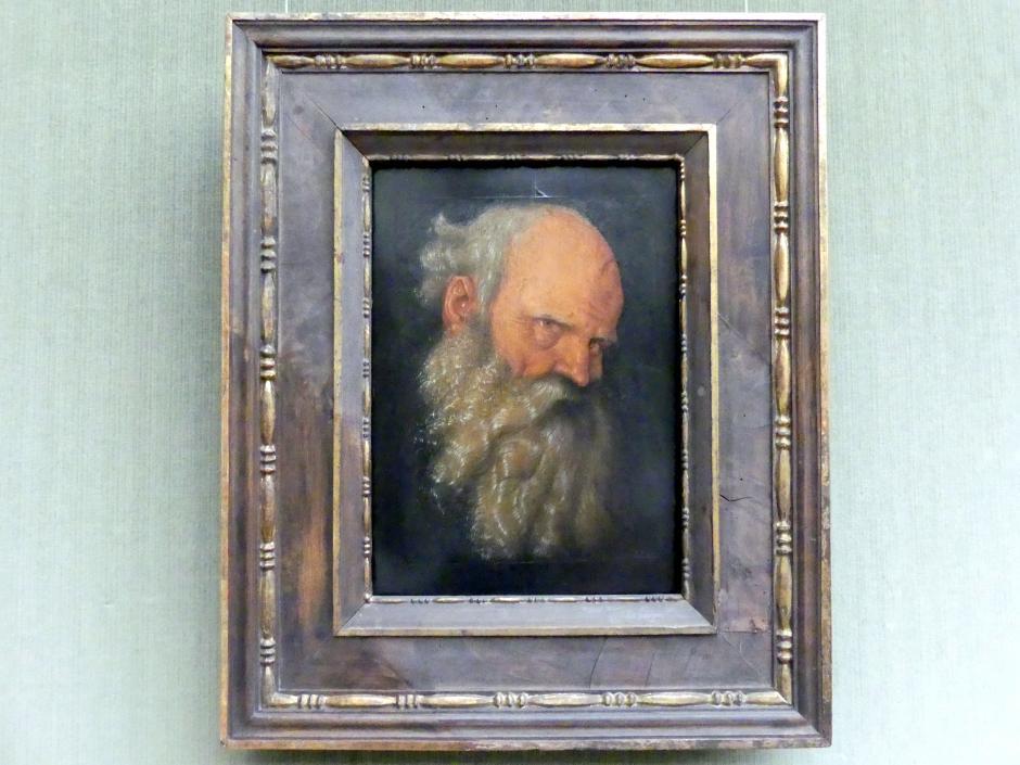 Hans Baldung Grien: Kopf eines Greises, um 1518 - 1519
