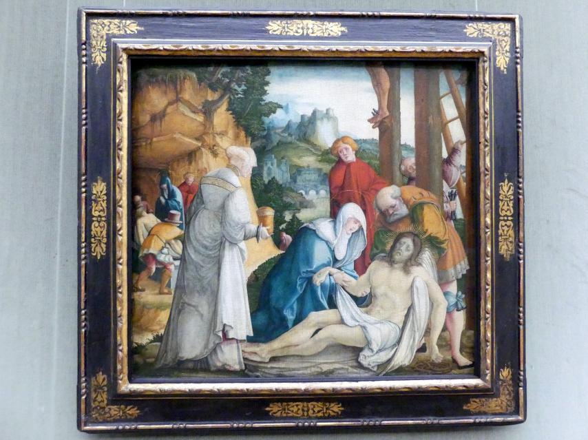 Meister von Meßkirch: Die Beweinung und Grablegung Christi, Undatiert