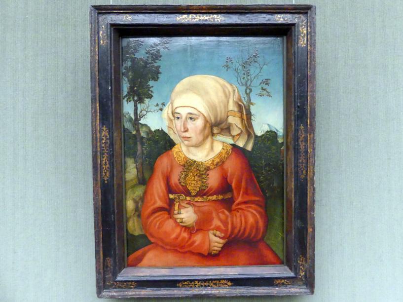 Lucas Cranach der Ältere: Bildnis der Frau eines Rechtsgelehrten, 1503