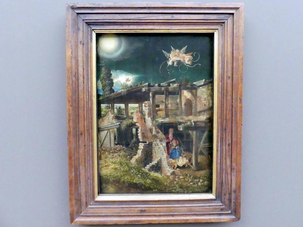 Albrecht Altdorfer: Die Geburt Christi, um 1513