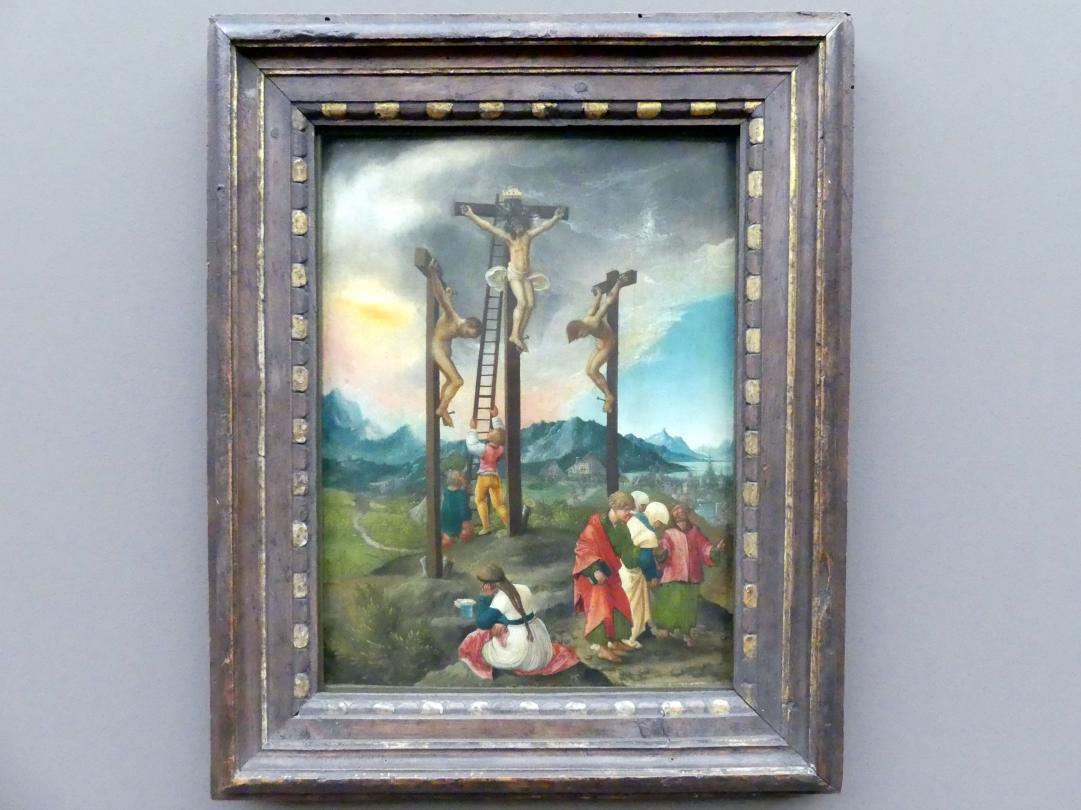 Albrecht Altdorfer: Christus am Kreuz zwischen den Schächern, Um 1526