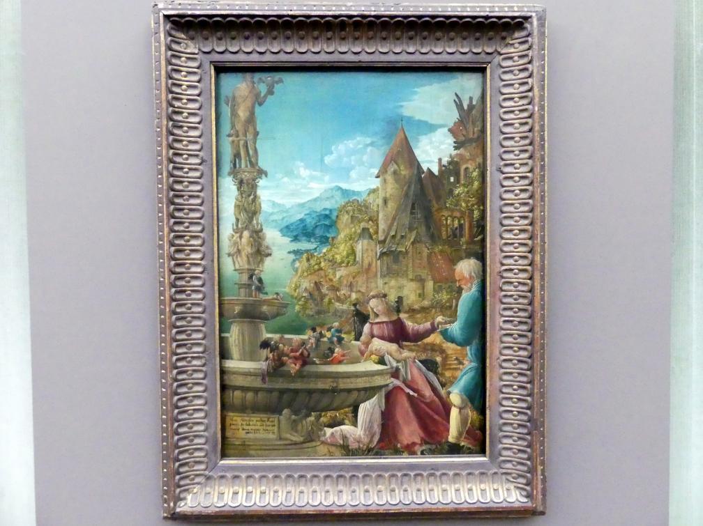 Albrecht Altdorfer: Die Ruhe auf der Flucht nach Ägypten, Um 1510